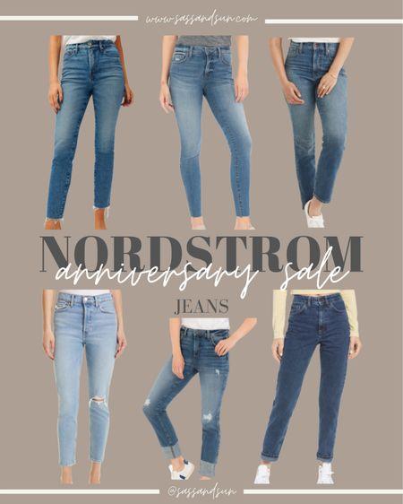 Nordstrom Anniversary Sale Jeans #nsale  #LTKsalealert #LTKSeasonal #LTKunder50