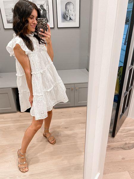 White dress. Bridal dress. Floral dress.   #LTKunder50 #LTKbump #LTKwedding