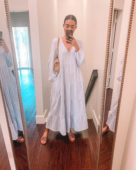 Sunday fit 🤍 — absolutely loving this linen dress I found @target , so comfy & flowy, plus it's available in different colors & patterns 🎯✨ : http://liketk.it/39pNY #liketkit @liketoknow.it #LTKunder50 #LTKstyletip #LTKunder100