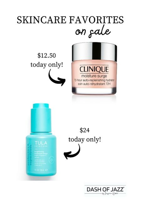 Just picked up my favorite hyaluronic moisturizer and a new clean vitamin C serum during ULTA's 21 days of beauty sale—1/2 off both today only!   Fall beauty picks Skincare Labor Day Sale TULA Clinique   #LTKbeauty #LTKsalealert #LTKunder50