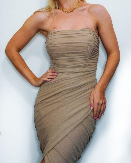 Girl Boss vibes 🤎🤎🤎 #liketkit @liketoknow.it http://liketk.it/3abKH #LTKunder100 #asos #bodycondress #nightdatedress