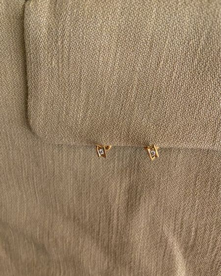 Dainty diamond studs🤍 @liketoknow.it #liketkit http://liketk.it/38RwT #LTKworkwear #LTKunder100 #LTKwedding