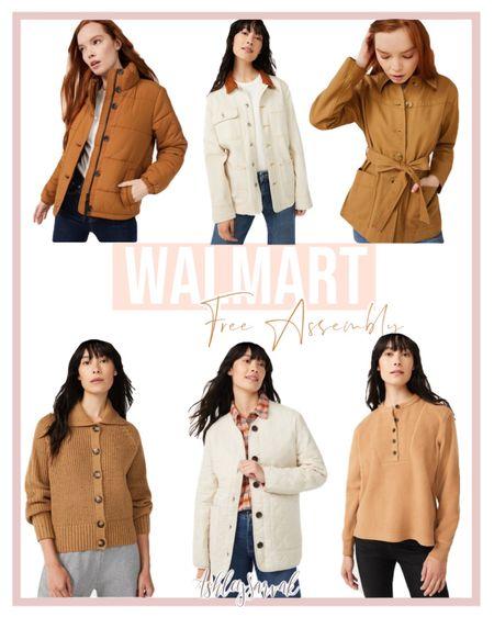 Walmart Fall Free Assembly Outerwear   #LTKunder50 #LTKSeasonal #LTKstyletip