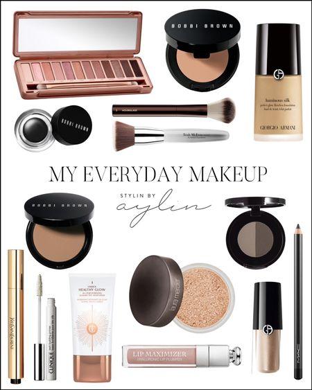 My Everyday Makeup, Makeup Routine, Daily Makeup #StylinbyAylin  #LTKunder100 #LTKGiftGuide #LTKbeauty
