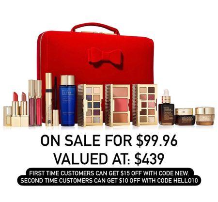 Estée Lauder gift box. Beauty deal. QVC   #LTKbeauty #LTKsalealert