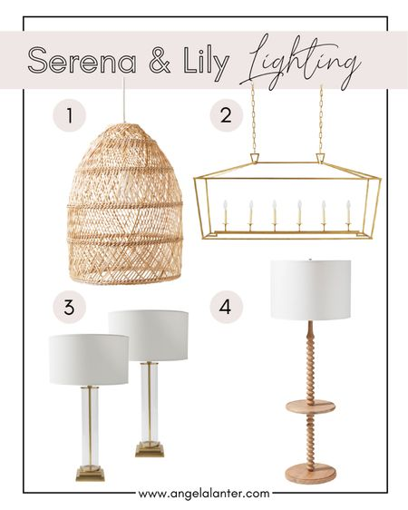 Serena and Lily 20% off sale! Shop my favorite Serena & Lily pendant, table lamp, sconce lighting products. http://liketk.it/3ge8d #liketkit @liketoknow.it #serenaandlily