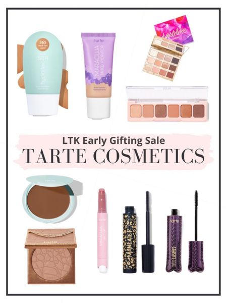 Last day to shop the LTK Early Gifting Sale for 25% off Tarte including some of our favorite makeup products!   #LTKbeauty #LTKSale #LTKGiftGuide