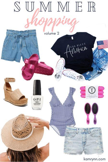 http://liketk.it/3hiAE #liketkit @liketoknow.it summer shopping  Fourth of July  Swimsuits  Sandals  Summer fashion
