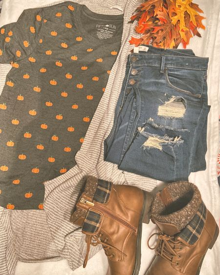 Did someone said it was Fall?  Even though I live in Florida I couldn't help snagging this pumpkin shirt from @target on one of my many adventures. Pairs great with these @Abercrombie jeans I got ON SALE!!!!   @liketoknow.it #liketkit http://liketk.it/2X7ZZ @liketoknow.it.family You can instantly shop my looks by following me on the LIKEtoKNOW.it shopping app #LTKcurves #LTKunder50 #LTKsalealert #fallfashion #boots #sweaters