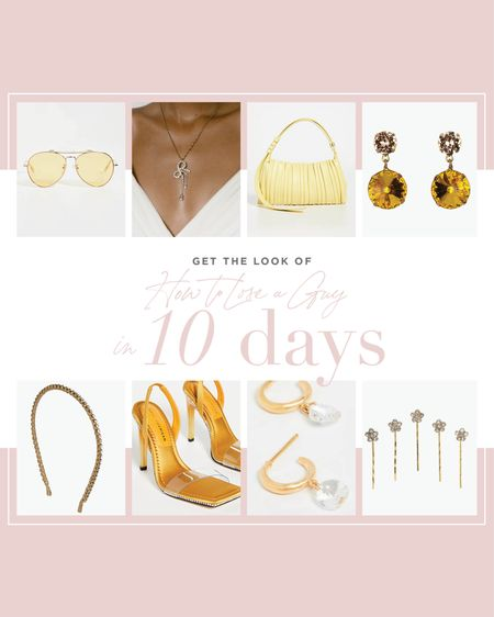 Get the look of the movie How to Lose a Guy in 10 Days with these flirty accessories!   #LTKstyletip #LTKshoecrush #LTKwedding