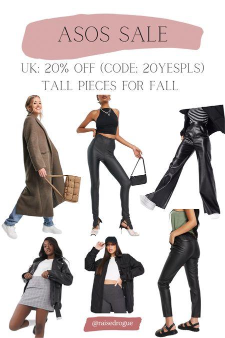 Tall styles for fall 20% off in the UK!   #LTKsalealert #LTKunder100 #LTKeurope