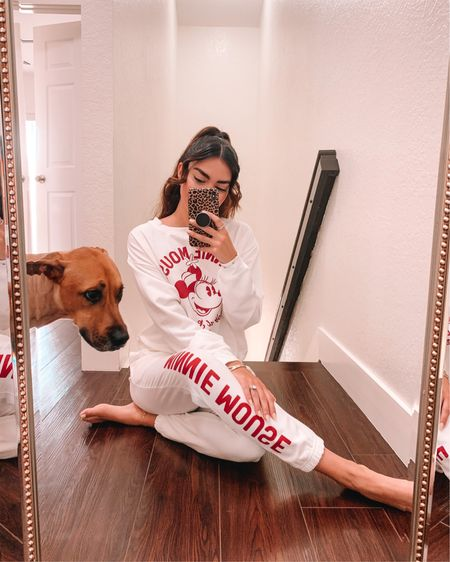 Oh you know, the usual, with my main 🐶 — check out this cute Minnie Mouse set from @target ✨🤍 : http://liketk.it/39HOv #liketkit @liketoknow.it #LTKstyletip #LTKunder50 #LTKunder100