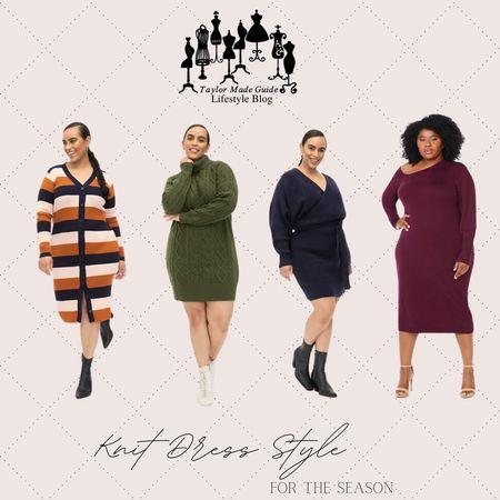 My favorite sweater dress styles for the season  #LTKSeasonal #LTKcurves #LTKstyletip