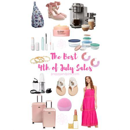 Holiday sales. Bag sales. Appliance sales. Dress sale. Makeup sale. Luggage sale.   Use code PREPPYPINK10 for an additional 10% off all Vera Bradley  #LTKunder100 #LTKSeasonal #LTKsalealert