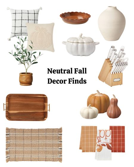 Neutral Fall Decor, fall home decor, target finds, Amazon home, target home.   #LTKhome #LTKSeasonal #LTKHoliday