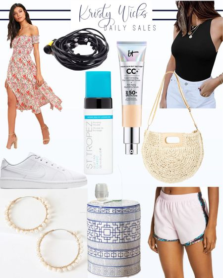 Summer weather is here! I rounded up a few things to get us ready ☀️ St. Tropez self tanner is a favorite and never goes on sale but it is today! I also found an outdoor mist machine that you connect to your hose under $20 🙌 Stay cool out there #LTKsalealert #LTKhome #LTKstyletip http://liketk.it/3hPrv #liketkit @liketoknow.it
