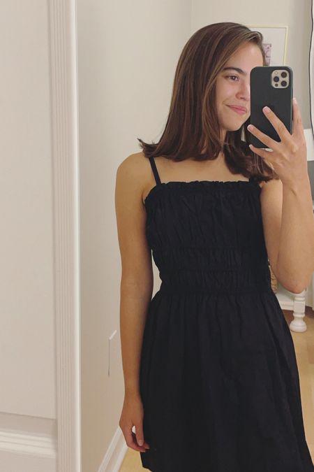 Smoked black dress  #LTKstyletip #LTKunder50 #LTKunder100