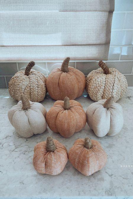 I will not buy pumpkins. I will not buy pumpkins.  #falldecor #fabricpumpkins #neutralfallcolors #fallhomedecor #targetpumpkins    #LTKhome #LTKstyletip #LTKSeasonal