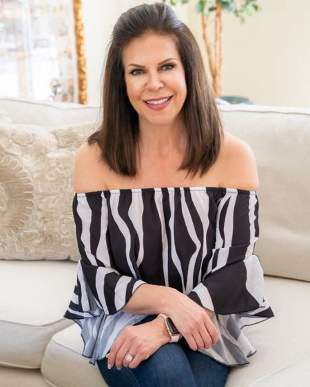 #liketkit @liketoknow.it http://liketk.it/3ht1s Fabulous Amazon find! Off the shoulder top that you can wear with anything! Skirts, shorts, jeans!   Comes in so many fabulous colors and patterns!  I love the sleeves!. I'm wearing a medium. Have it in several different colors and patterns!  #LTKSeasonal #LTKunder50 #southflorida #OffTheShoulder #OffTheShoulderBlouse #LTKSummer #LTKSpring #LTKFashion #LTKCurves #MidlifeBlogger #VacationWear #AgeIsJustANumber #AgelessStyle #BeChic #MidlifeStyle #StyleAtAnyAge   http://liketk.it/3bsNn Shop my daily looks by following me on the LIKEtoKNOW.it shopping app