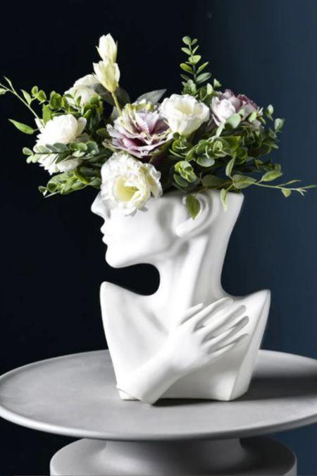 Bust vase planter   #LTKGiftGuide #LTKSeasonal #LTKhome