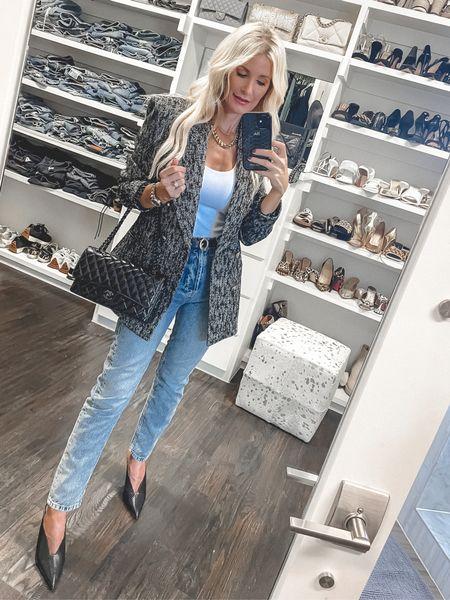 Love this chic oversized blazer - the dupe is on major sale! It runs a bit Big, I'm wearing an Xs.     #LTKsalealert #LTKunder50 #LTKstyletip