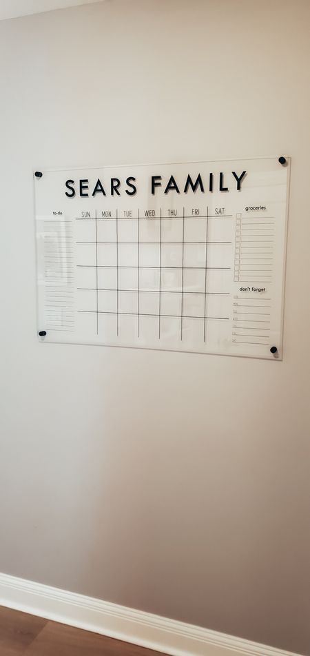 Our Family http://liketk.it/3lSWo wall calendar @liketoknow.it #liketkit #LTKhome #LTKfamily @liketoknow.it.home @liketoknow.it.family