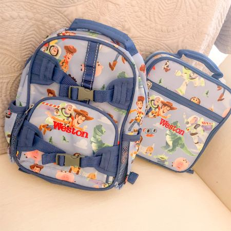 Toy story monogrammed Mini backpack and lunch box for preschool. 🍎 👩🏫 🏫    #liketkit #LTKbaby #LTKfamily #LTKkids @liketoknow.it http://liketk.it/3f5hd Shop my daily looks by following me on the LIKEtoKNOW.it shopping app