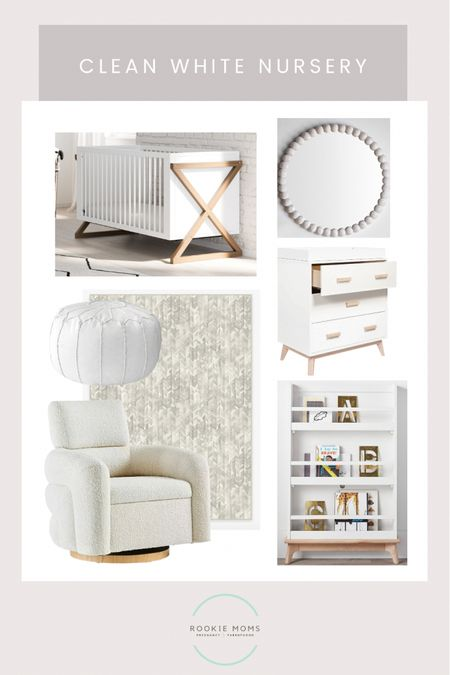 Loving this clean white inspo for a gender neutral nursery. This crib is so unique and it's affordable at $399.    http://liketk.it/3fW2c #liketkit @liketoknow.it #LTKhome @liketoknow.it.home Shop your screenshot of this pic with the LIKEtoKNOW.it shopping app #LTKbump #LTKbaby