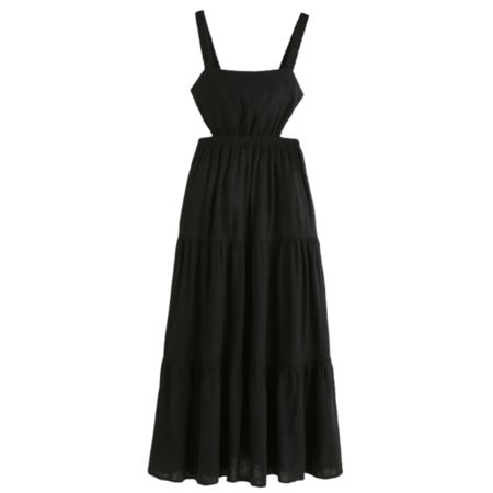Can't get over this stunning black dress. Perfect for so many occasions. Sure to be a closet staple. Save 25% off during the LTK Sale.   Fall Dress : Wedding Guest Dress : Family Picture Dress   #LTKstyletip #LTKsalealert #LTKSale