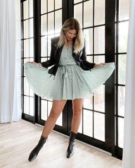 Leather & Lace   @liketoknow.it http://liketk.it/33VzH #liketkit #LTKstyletip