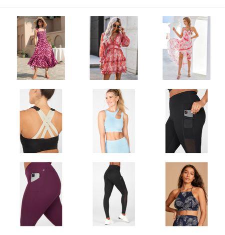Workout wear, pocket leggings, cute bra top, summer dresses! Shein dresses under $25  #LTKunder100 #LTKfit #LTKstyletip