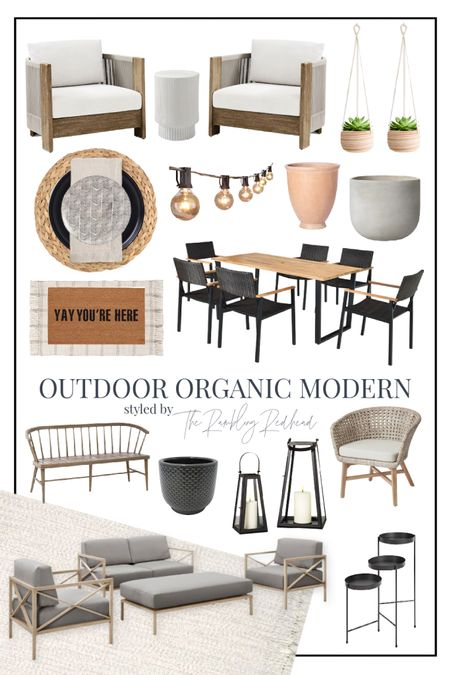 Do you like modern style mixed with organic greenery and earthy tones? Check out these organic modern outdoor finds! 😊🌿 http://liketk.it/3iqGQ #liketkit @liketoknow.it #LTKhome #LTKfamily #LTKstyletip