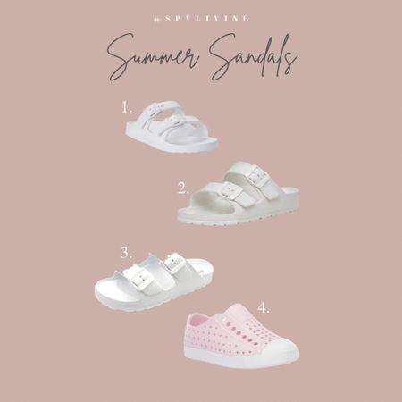 Summer sandals! Birkenstock dupes.   #LTKSeasonal #LTKshoecrush #LTKunder50