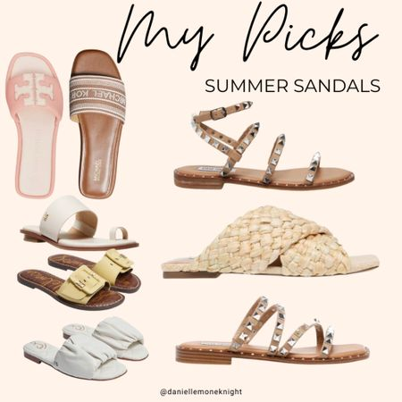 Check out my picks for sandals this summer!! And with all the great sales now is the perfect time to shop!! http://liketk.it/3gjZH #liketkit @liketoknow.it #LTKunder100 #LTKsalealert #LTKshoecrush