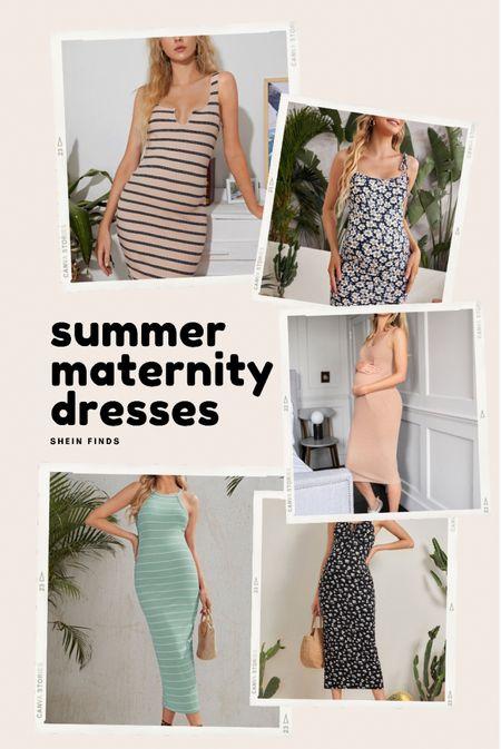 Favorite maternity dresses from Shein!   #LTKbaby #LTKSeasonal #LTKbump