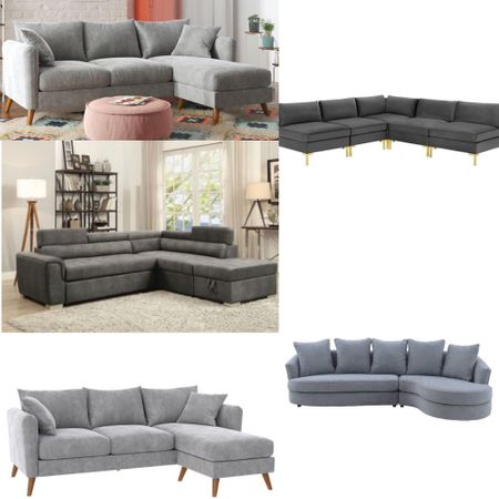 Chic sectionals from Target.   #LTKhome
