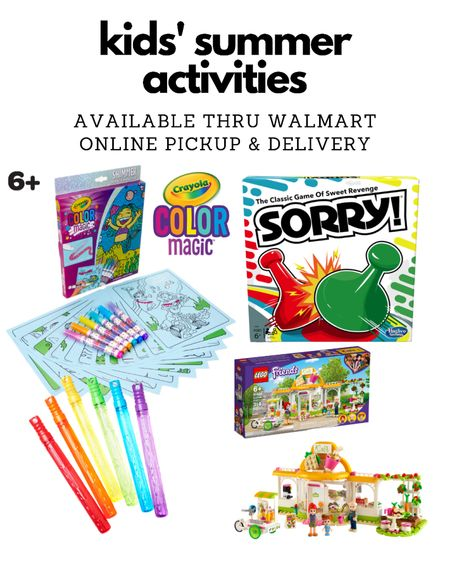 Walmart kids toys girls boys elementary age  Summer activity ideas   @liketoknow.it #liketkit http://liketk.it/3gIFT #LTKkids #LTKunder50