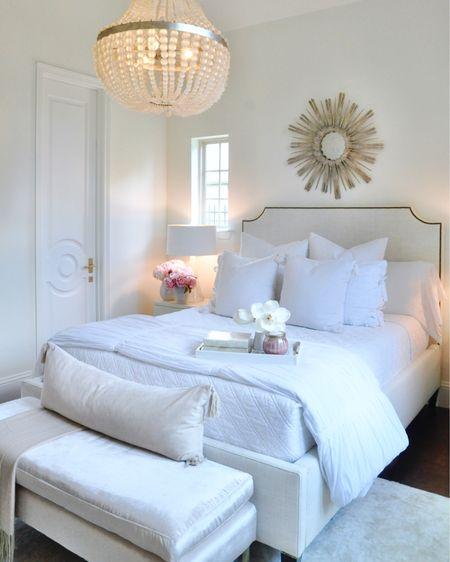 Bedroom home decor and bedding http://liketk.it/2UGqY @liketoknow.it #liketkit #LTKhome #StayHomeWithLTK