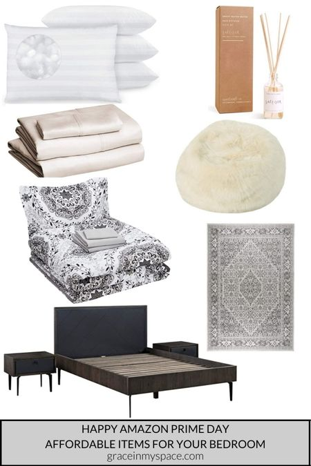 Amazon prime day bedroom decor! These pieces work so well together. @liketoknow.it #liketkit http://liketk.it/3i2NE @liketoknow.it.home #LTKsalealert #LTKunder100 #LTKhome #amazonprimeday #bedroomdecor