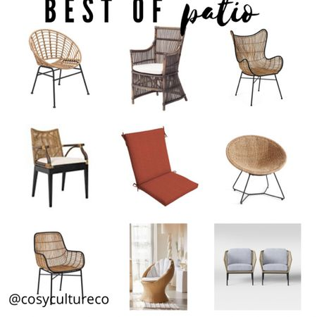 Patio chairs! Outdoor furniture   http://liketk.it/3dgzt  #liketkit @liketoknow.it #LTKhome #LTKstyletip @liketoknow.it.home