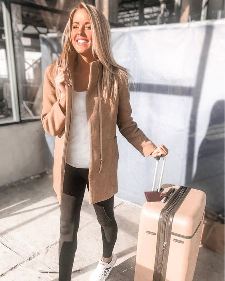 """Turning on the vacation email and off to the happiest place on earth! Can y'all guess where I'll be for Christmas? ✈️ 👀🎄 Y'all we made it, the big day is almost here and an end to the holiday craziness is almost in sight. On that note, does anyone else keep scrolling through social media and feeling kind of like your plans or holiday festivities aren't as merry and exciting as everyone else's? I've definitely found myself thinking that a few times these past couple weeks... and I know it can feel lonely and dampen the Christmas spirit. I hate that feeling of being not """"enough"""", and it's so easy to feel like that when we are constantly comparing our hilights reel to the next person, ya know? That's why I felt like it was the right time to share a post I've had written for a while sharing a few reminders to keep in mind when you start to feel """"less than"""". No one should feel like they aren't valued in this world, no one should feel like they aren't seen, or like they don't belong. So let's get this lie that we """"aren't enough"""" out of our vocabularies and start replacing it with these simple truths.  1. Giving your all doesn't mean you have to do it all. 2. Every day may not be good but there is good in every day. 3. Everyone won't see the value in what you create, that doesn't mean it's not meaningful. 4. Your best is enough. 5. You belong here just as much as anyone else.  Go on over to my blog to read the entire post for tips on what you can do to put these into action in your every day life (link in bio) and tag a friend who could use one of these reminders. ♥️ http://liketk.it/2Inw6 #liketkit @liketoknow.it #LTKholidaystyle #LTKunder50 #LTKunder100"""