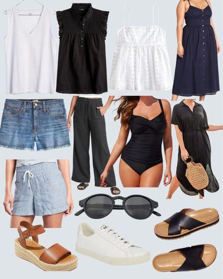 Summer Capsule Wardrobe  Sizes XXS-3X!   http://liketk.it/3i8e9 @liketoknow.it #liketkit #LTKcurves #LTKstyletip