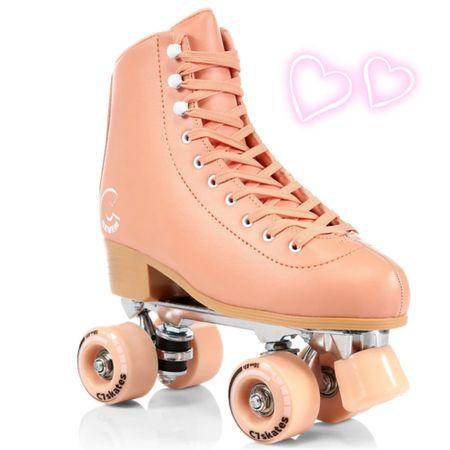 Retro inspired roller skates for summer fun! http://liketk.it/3hnSc #liketkit @liketoknow.it