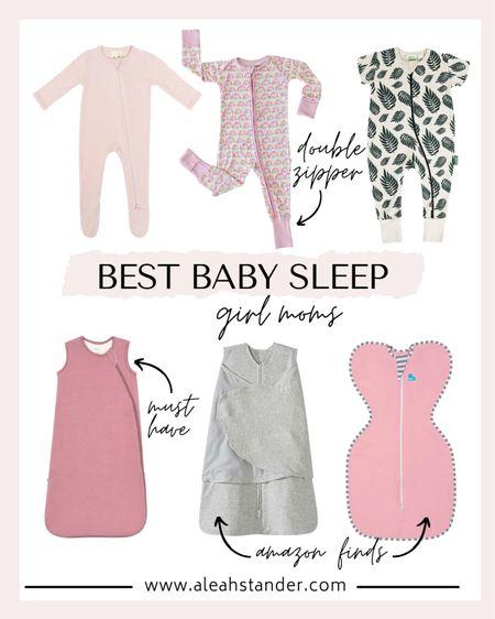 Best baby sleep sacks and pjs. Double zipper baby pjs, baby gifts, baby essentials, new mom gifts, baby girl, girl mom, baby Amazon finds, baby pajamas, baby footies, baby sleep sacks, baby shower gifts, baby swaddles http://liketk.it/3fNbp #liketkit @liketoknow.it #LTKbaby #LTKunder50 #LTKunder100
