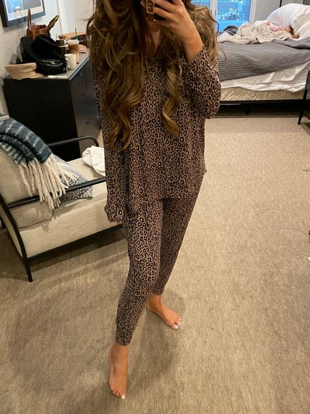 Fall Pajamas, best pajamas, loungewear, leopard print pajamas, long sleeve pajamas, Nordstrom, Emily Ann Gemma, http://liketk.it/3nbvn @nordstrom #nordstrom