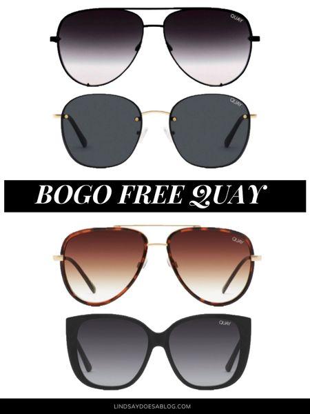 BOGO Quay sunglasses!   http://liketk.it/3hjBD #liketkit #LTKunder50 #LTKunder100 @liketoknow.it