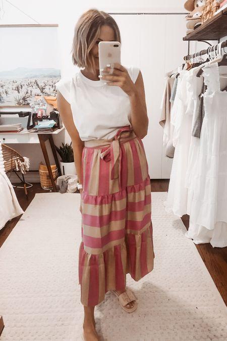 The prettiest skirt for spring! @liketoknow.it #liketkit http://liketk.it/3fHfs #LTKunder100 #LTKunder50 #LTKstyletip
