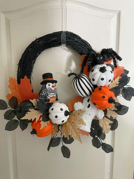 halloween wreath under $30  #LTKunder50 #LTKhome