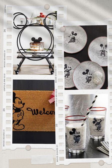 Mickey Mouse Pottery barn collection #disney   #LTKstyletip #LTKhome #LTKGifts