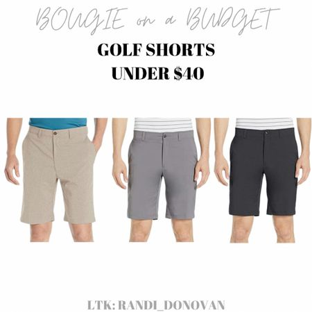 Golf shorts - Brain loves these and they're under $40!  http://liketk.it/3gzei #liketkit @liketoknow.it #LTKunder50 #LTKmens #LTKstyletip